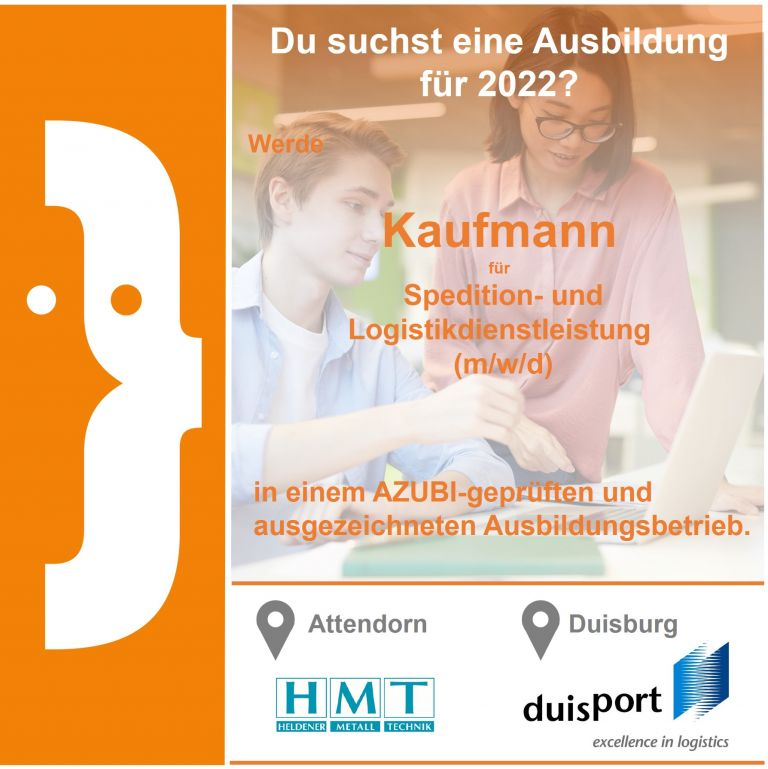 Kaufmann für Spedition und Logistikdienstleistung (m/w/d)