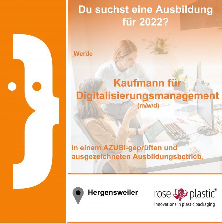 Kaufmann für Digitalisierungsmanagement (m/w/d)