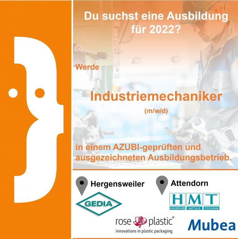 Industriemechaniker (m/w/d)