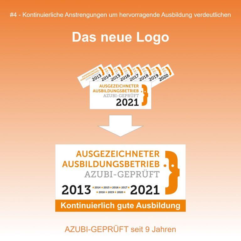 Das neue Logo für dauerhaft gute Ausbildung